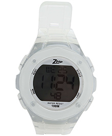 Titan Zoop - Squircle Dial Digital Wristwatch White