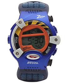 Titan - Zoop Kids Digital Navy Blue Watch