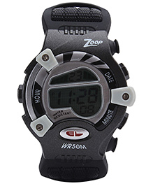 Titan - Zoop Kids Digital Black Watch