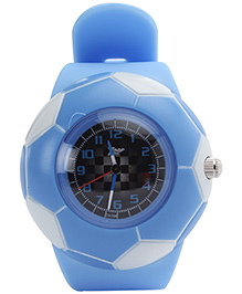 Titan - Zoop Football Shape Kids Analog Blue Watch