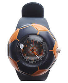 Titan - Zoop Football Shape Kids Analog Black Watch
