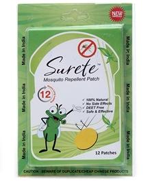 Surete - Mosquito Repellent 12 Patches