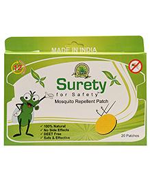 Surete - Mosquito Repellent 20 Patches