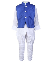 Baby Hug - Ethnic Wear Kurta Chudidaar Pajama And Jacket Set