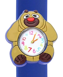 Fab N Funky - Kids Watch Panda Shape Blue