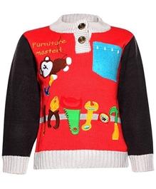 Baby Hug - Multicolor Full Sleeves Sweater