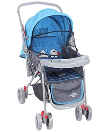 Blue N Grey Upto 36 Months, Three Reclining Position Adjustable Seat Sitting-relaxi...