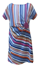Herberto - Striped Party Dress