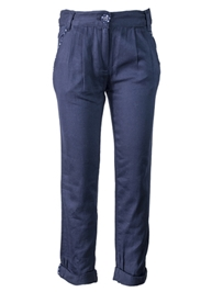 Nauti Nati - Cotton Pleated Trouser Blue