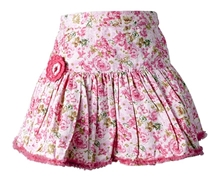 Nauti Nati - Floral Print Skirt With Pleats