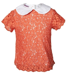 Nauti Nati - Peter Pan Collar Net Top