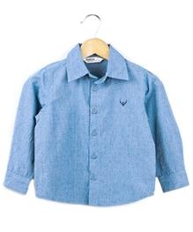 Beebay - Full Sleeves Dot Print Shirt