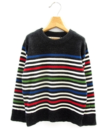 Beebay - Full Sleeves Multi Stripe Sweater