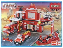 Play N Pets Fire Fighters Blocks 3610