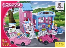 Play N Pets - Princess Coffee House Blocks Set