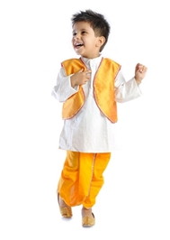DotnDitto - Exclusive Dhoti Kurta And Jacket Set