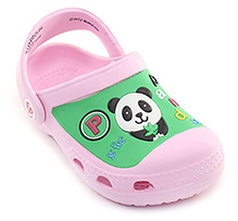 Fisher Price - Panda Clog With Back Strap