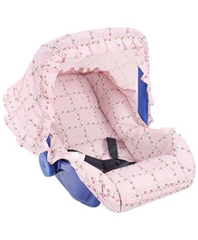 Fab N Funky 2 In 1 Carry Cot N Rocker Baby Pink