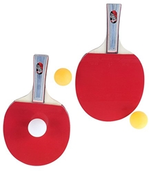 Fab N Funky - Table Tennis Racket Set Of 2