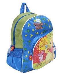 Winnie The Pooh - 12 Inches School Bag Blue