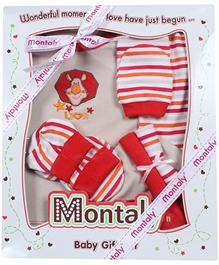 Montaly Red Seven Piece Gift Set
