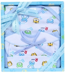Fab N Funky - Montaly Blue Four Piece Gift Set