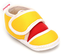 Morisons Baby Dreams - Baby Booties Yellow