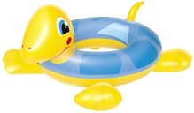 Bestway Turtle Swim Ring Blue And Yellow