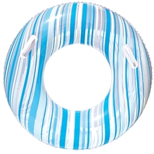 Bestway Striped Swim Tube Blue