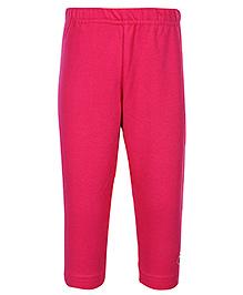Gini & Jony - Full Length Plain Pink Legging