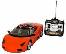 Adraxx Remote Control Car Full Function Racing Model With Music