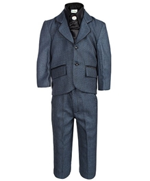 Babyhug 4 Piece Party Wear Suit Blue