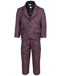 Babyhug 4 Piece Party Wear Suit
