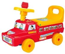 Girnar Dumper Deluxe Manual Push Ride On - Red