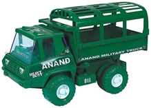 Anand Friction Military Truck - Green