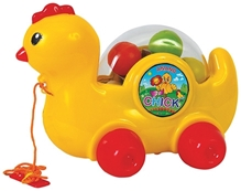 Anand Pull Along Chick Toy - LW AT032