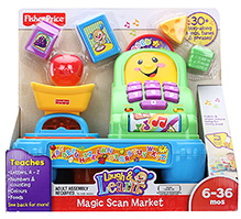 Fisher Price - Laugh And Learn Magic Scan Market