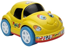 Luvely - Funny Car Toy Yellow