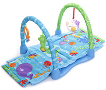 Fisher Price Ocean Wonders Kick And Crawl Aquarium Gym