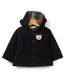 Full Sleeves Hooded Jacket 3 - 6 Months, Smart and trendy full sleeves comfortable jacket to keep...