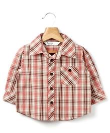 Beebay - Small Checks Full Sleeves Shirt