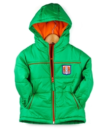 Beebay - Full Sleeves Quilted Jacket With Hood