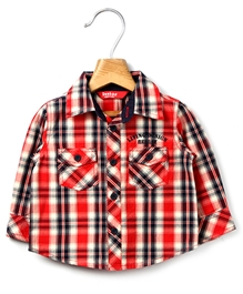Beebay - Full Sleeves Check Shirt