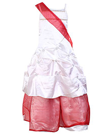 Little Darling - Singlet Party Gown With Shoulder Sash