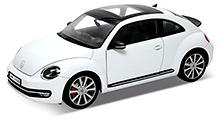 Welly - 2012 VW New Beetle White
