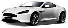 Welly - Aston Martin DB9 Coupe Silver