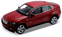 Welly - BMW X6 Red