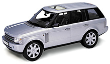 Welly - Land Rover Range Rover SUV Silver