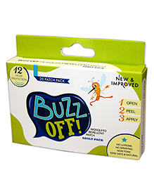Buzz Off Mosquito Repellent  - 20 patch