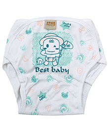 Babyhug Cloth Diaper Pant Sea Green - Large